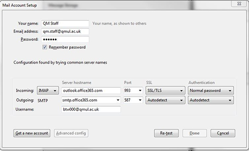 Set Up Thunderbird With Office 365 It Services